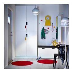 SANDSET Tür, weiß - 50x229 cm - Scharnier - IKEA