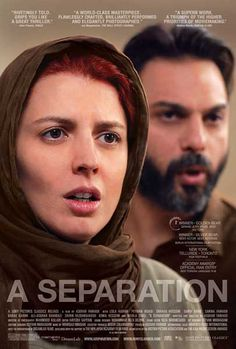 'A Separation' *2011 Oscar for Best Foreign Language Film *2011 Golden Globe for Best Foreign Language Film