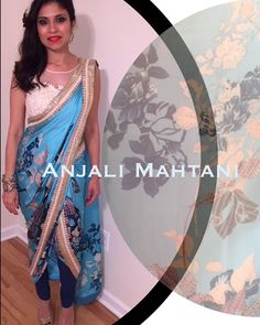 #print #fusion #asianwedding Dhoti Salwar Suits, Dhoti Saree, Sarees, Indian Attire, Contemporary Style, Palace, Instagram Posts, How To Wear, Wedding