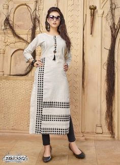 Whatsapp -> 919914192488 Catalog Name: Samaira Partywear Fancy Cotton Kurtis  Fabric: Cotton  Sleeves: Sleeves Are Included  Size: L - 40 in XL - 42 in XXL - 44 in  Length: Up To 45 in  Type: Stitched  Description:  It Has 1 Piece Of Kurti   Work: Printed / Solid / Button Work  Dispatch: 2  3 Days  Designs: 6  Easy Returns Available in Case Of Any Issue March 09 2019 at 11:07AM