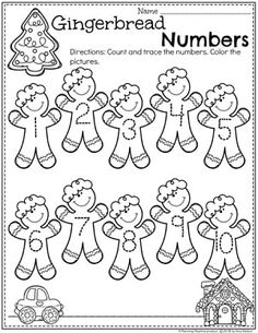 We hope you loved these preschool cooking theme activities as much as we do. Preschool Math Games, Numbers Preschool, Preschool Worksheets, Preschool Activities, Preschool Cooking, Christmas Worksheets, Christmas Activities For Kids, Preschool Christmas, Number Tracing