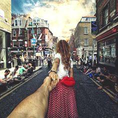 Brick Lane Londra   -- photographer Murad Osmann