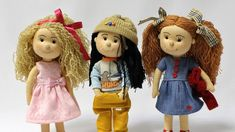 Best 12 You May Enjoy fabric dolls With These Useful Tips – SkillOfKing. Doll Sewing Patterns, Sewing Dolls, Doll Clothes Patterns, Doll Crafts, Diy Doll, Doll Videos, Crochet Video, Doll Tutorial, Soft Dolls