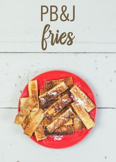 Recreate your favorite childhood treat into a whole new flavorful snack! These PB&J Fries add a sweet, yet crispy twist to the beloved classic sandwich. Dip this recipe into either a maple syrup or jelly icing for added goodness. Enjoy these fries on-the-go or in the comfort of your own home.