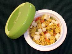Paneer Curry Pasta Salad - Manjula's Kitchen - Indian Vegetarian Recipes