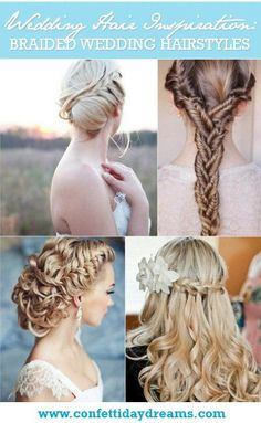 25 Swoonworthy Braided Wedding Hairstyles {Trendy Tuesday} - pinning from the bottom right hairstyle