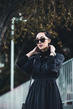 How to Style a Black Turtleneck - The Chriselle Factor