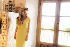 invitada boda blog vestido mono tocado comunion bautizo look