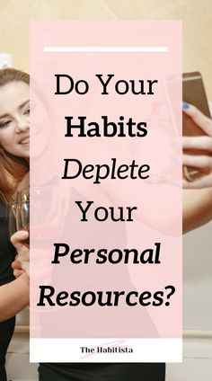 Spending too much time on socials, drinking wine or playing Candy Crush? Some habits can deplete your personal resources - learn why and what to do about it! Healthy Habits | How to better Yourself | Healthy Living | Healthy Life | Intentional Living Healthy Habits, Healthy Life, Healthy Living, Life Values, Reward System, Wine Drinks, How To Better Yourself, Drinking, Alcohol