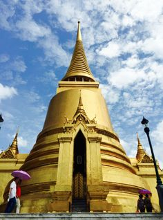 The Temple of the Emerald Buddha had so many beautiful temples!