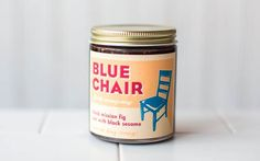 Black Mission Fig Jam with Black Sesame from Blue Chair Fruit