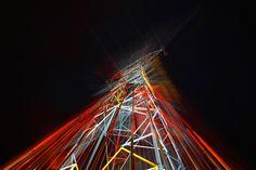 Elena Paroucheva: « Source », Amnéville les Thermes, Lorraine, France, electricity pylons transformed into artwork