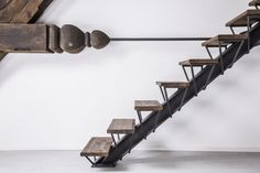 Spring, Summer, Fall, Winter... and Spring - ORA | single stringer | wide flange | rebar steel | wood
