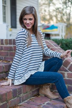 The Mint Julep Boutique is your source for cute tops for women! Shop boutique tops for every occasion, from cardigans and sweaters to tunics and blouses. Mint Julep Boutique, Style Wish, Cute Boutiques, Boutique Tops, Shirt Jacket, Cute Tops, Bell Sleeve Top, Cute Outfits, Ivory