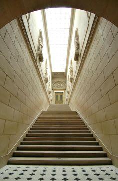 A passage way in Versailles