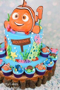 Finding Nemo Birthday Cake Finding Nemo Birthday Cakes And Swimming - Finding nemo birthday cake