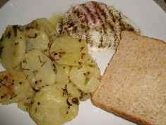 White Potatoes With Fried Egg  on MyRecipeMagic.com