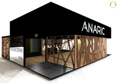 Design, Assembly and Dismantling Stand Anaric - Fair Export Home, Exponor - Fevereiro 2011