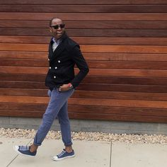 ________250.  #TGIF  Spring Cotton Peacoat / @Zara Secret Plaid Wash Shirt / @Jcrew Merino Sweater / @Jcrew Canvas Belt / @Jcrew Stanton Urban Slim Pants / @Jcrew Jack Purcell Sneakers / @Converse Sunglasses / @RayBan Nylon Apple Watch Band / @MonowearDesign