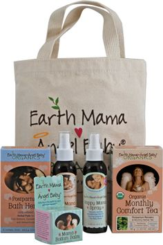Earth Mama Angel Baby's natural postpartum recovery products are especially for those days (weeks, months) after childbirth when your body and mind need a lot of extra TLC. It's natural to feel out-of-sorts, and physically drained after labor — you've done the most amazing thing!