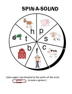 FREE On the Farm Literacy Center Game (from full On the Farm Literacy Center unit)