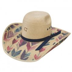 Charlie 1 Horse Straight Arrow Palm Leaf Cowgirl Hat daf5f2ad5ec