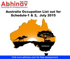 South Australia State Nomination Skilled Occupation List 2015 See more Info:- http://www.abhinav.com/australia-immigration/south-australia-state-nominated-occupation-list.aspx