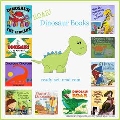 preschool theme, picture books, dinosaur activities