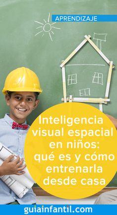 ¿Has oído hablar de la inteligencia visual y espacial? Así es como la puedes entrenar en tus hijos desde casa #inteligencia #educación #aprendizaje #niños #GuíaInfantil Anger Management, Pre School, Bb, Tips, Information Privacy, School Children, Parenting Tips, Parenting, Counseling
