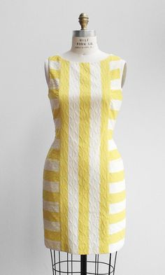 Jacquard Stripe Shift. I love that these stripes are a slimming vertical. $118