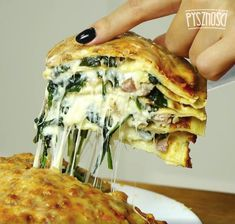 Keto Recipes, Cooking Recipes, Ice Cream Treats, Calzone, Fresh Fruit, Summer Recipes, Quiche, Food And Drink, Healthy Eating