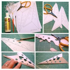 me ~ nostalgiecat: DIY paper stars. Diy Christmas Star, Diy Christmas Lights, Christmas Paper Crafts, Outdoor Christmas, Paper Star Lanterns, Diy Nativity, Office Christmas Decorations, Papier Diy, Diy Paper