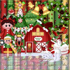 Gerdas Scrap's: Christmas-Scrap-2014