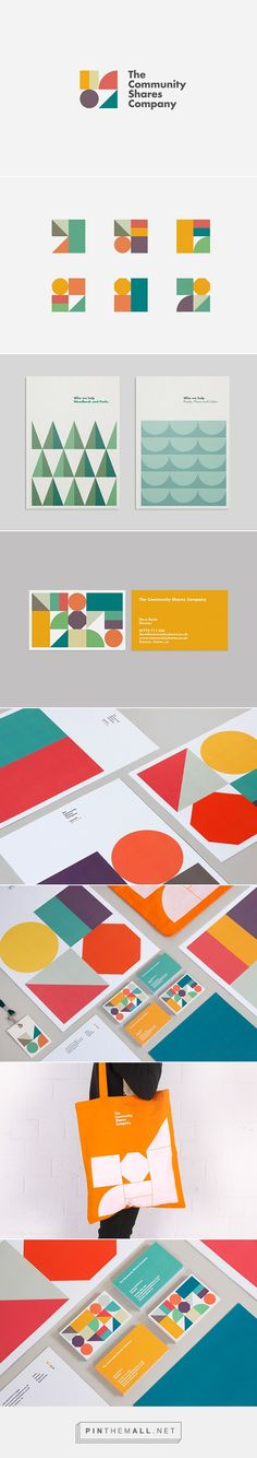 Community Shares Company Branding by Loz Ives on Behance