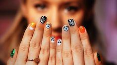 5 Halloween nail art looks // so creative!