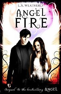 Angel Fire by L.A Weatherly - Reviewed by Stacey