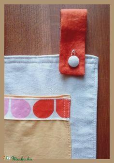 Textil zsebes tároló - nagy méretű (MONOO) - Meska.hu