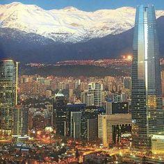Santiago después de la lluvia! Mayo 2017, Chile!