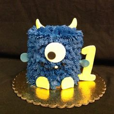 Birthdays For Kids Boy Birthday, Happy Birthday, Birthday Parties, Monster Photos, Specialty Cakes, Monster Party, Archie, First Birthdays, Teddy Bear