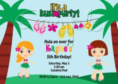 hawaiian bday party   Collect Collect this now for later