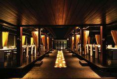 Bulgari Resort, Bali  - Il Ristorante restaurant interior