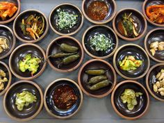 korean pickled dishes(side dishes called Ban-Chan)