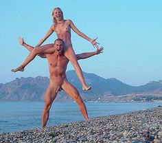 Nude couples Nudist beach