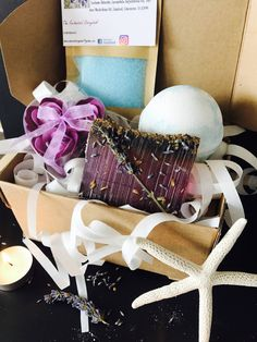 Shop for on Etsy, the place to express your creativity through the buying and selling of handmade and vintage goods. Leaving Gifts, Spa Gifts, Aromatherapy, My Etsy Shop, Gift Wrapping, Bath, Homemade, Unique Jewelry, Handmade Gifts