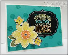 Control Freaks Blog Tour, Petal Potpourri, Big Day, Sale-A-Bration, New Occasions Catalog, Stampin' Up!, #stampinup, flowers, chalkboard, Birthday Bash, Connie Babbert, www.inkspiredtreasures.com
