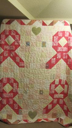 Breast Cancer Quilt  @Joyce Sullivan, i think this should be next on your list :)
