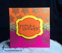 jpp - oriental Snowflakes / Birthday Card / orientalische Geburtstagskarte / Stampin' Up! Berlin / Flockenzauber / Sassy Salutations / Winterwerke /Framelits Etikett Kunst Embossingfolder Fächerfantasie / Deco Labels Framelits / Flurry of Wishes www.janinaspaperpotpourri.de
