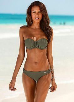 9a48b3254d Buffalo Olive Underwired Bandeau Bikini £49 Bandeau Bikini