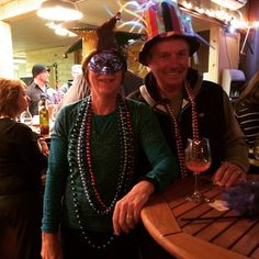 Cute couple having fun at our party. Tuesday Happy Hour, Food Events, Mardi Gras, Cute Couples, Have Fun, Fat, Wine, Carnival