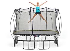 Trampoline Workout - might as well use it while the kids are in school.